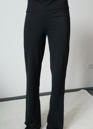 Женские черные спортивные штаны 2019 - купить недорого вещи в ... fd8a96f956cc4