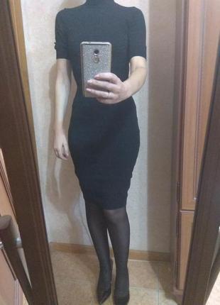 Супер платье маленькое чёрное платье s, 44 размер.