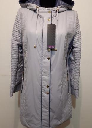 Демисезонный плащ,пальто,удлиненная куртка l,xl,наш размер 50