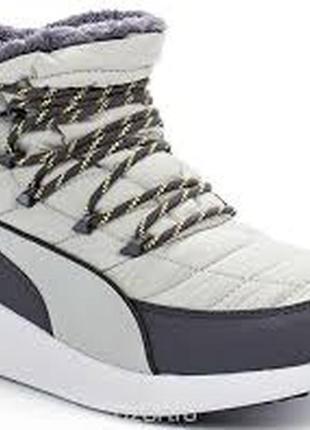 Женские ботинки зимние puma st winter boot wns, 36, 37
