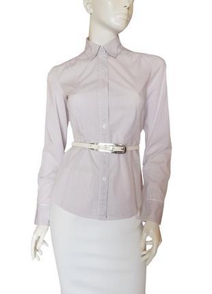 Блузка в полоску с длинным рукавом