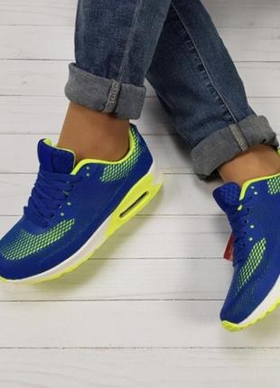 Новые желто-синие кроссовки аирмаксы размер 36-41 Польша, цена - 550 ... df9de92675d
