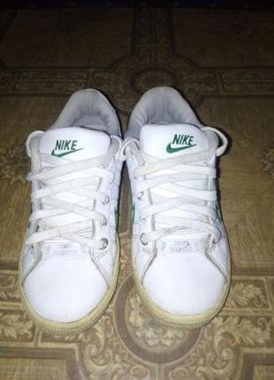 Оригинальные , кожаные кроссовки на мальчика nike