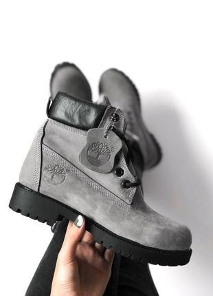 Ботинки женские, тимберленды c мехом