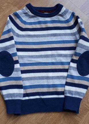 Мягенький свитер h&m в составе шерсть