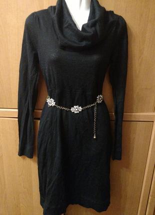 Платье италия тоненькая шерсть