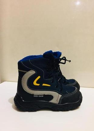 Детские термо ботинки (италия)