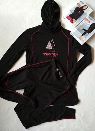 Термо костюм, термобелье для зимнего спорта, бега
