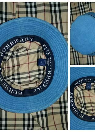 Burberry, унисекс,оригинал, мега стильная шляпа, м