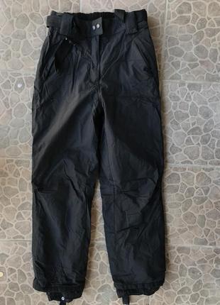 Лыжные штаны полукомбинезон! размер м
