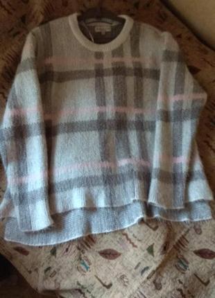 Классный серый свитер f&f
