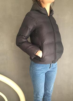 Теплая укорочённая курточка
