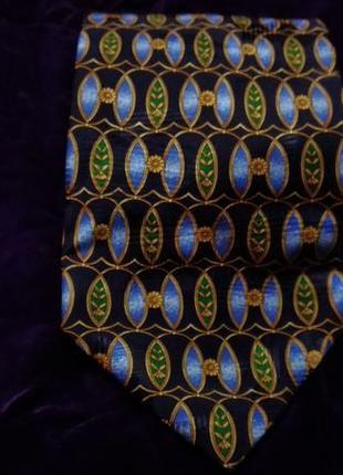 Шелковый красивый галстук a.mouley 1919 paris