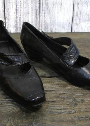 Туфли кожаные manfield, 39 (25.5 см), кожа, отл сост!