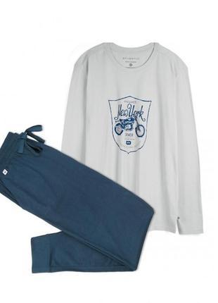 Мужские пижамы Atlantic 2019 - купить недорого мужские вещи в ... 1df83b0b38acc