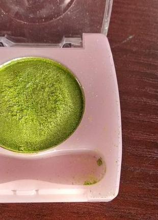 Тени для глаз век зеленые