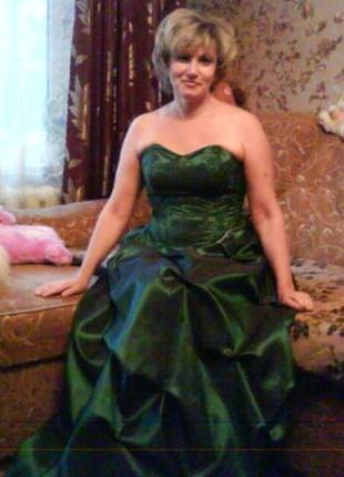 Бальное платье корсаж + юбка 48-50 (l)