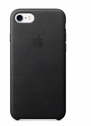 Оригинальный кожаный чехол на iphone 8+