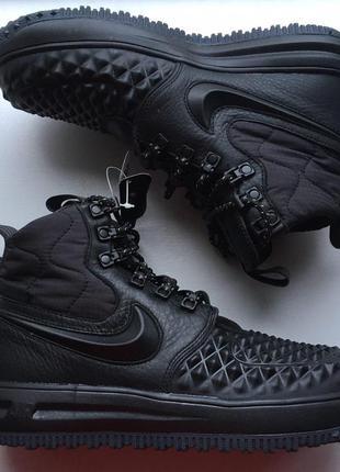 Новые ботинки кроссовки nike lunar force 1 duckboot 17 23.5 см оригинал