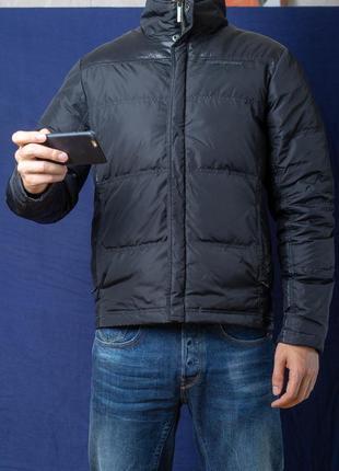 Пуховик calvin klein jeans чорного кольору в розмірі s 1b6ea9dc63d66