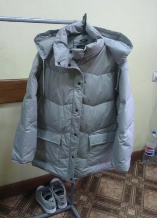 Куртка-пуховик женская federleicht und warm большого размеры