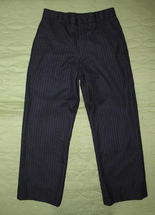 Шерстяные итальянские брюки ralph lauren высокая посадка