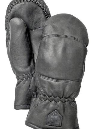 Брендовые варежки/рукавицы  hestra,натуральная кожа