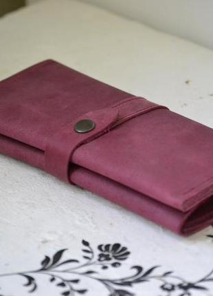 Женский кошелек с монетницей  из натуральной кожи