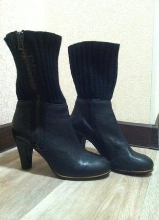 Сапоги -чулки чулок*полусапожки ботинки с довязом* чобітки