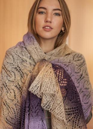 Уютный шарф ручной работы