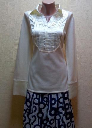 Джемпер- блузка по супер цене