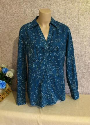 Оригинальная, трендовая рубашка esprit размер eur 42