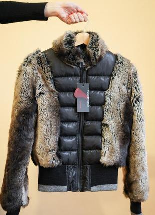 Куртка с эко-мехом