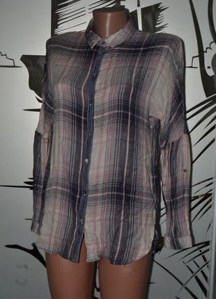 Рубашка 100%вискоза хс-с