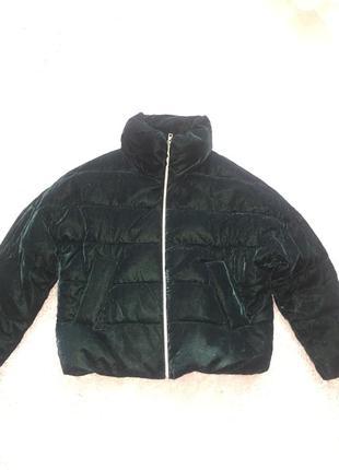 Велюровая куртка