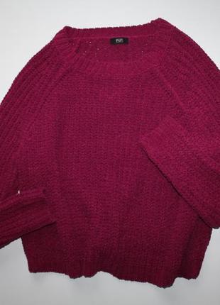Велюровый свитер f&f. новый. размер 14.