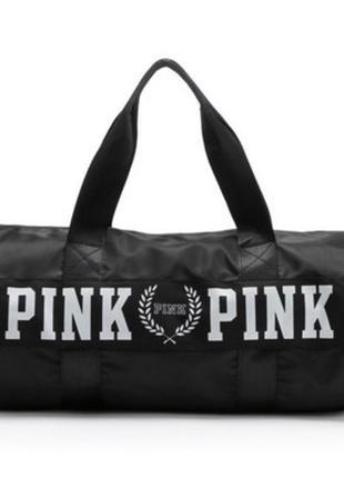 Спортивная дорожная сумка pink vs victoria s secret