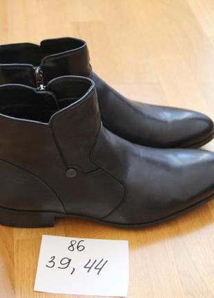 f87537ad6 Стильные зимние ботинки. классика. кожа , натуральный мех. размеры: 39,44