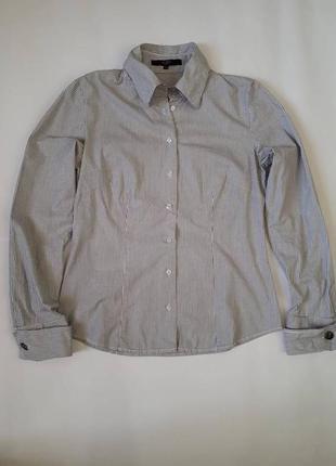 Стильная рубашка hallhuber + жилет в подарок