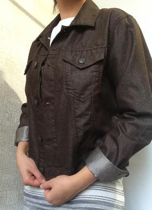 Крутая джинсовая куртка/жакет/пиджак