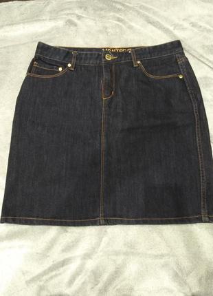 Юбка джинсовая мини montego