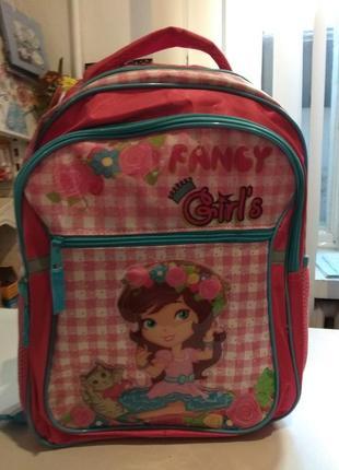Рюкзак ранец школьный 2 отделения rainbow