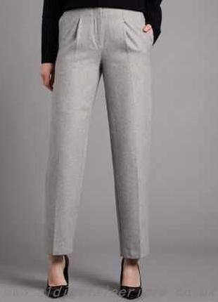 Шикарнейшие😍серые брюки-штаны со стрелками,шерсть😱,autograph,s-m