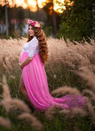 Будуарна сукня для вагітних