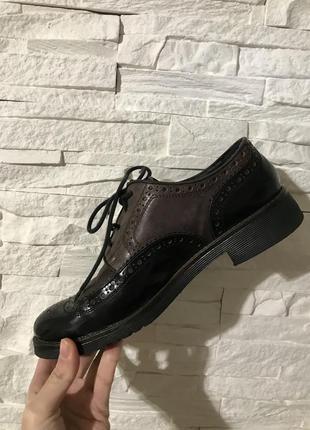 Продам свои туфли броги tosca blu