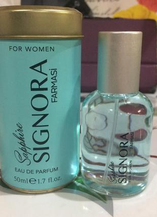Парфюмированная вода signora sapphire farmasi (духи,парфюм,туалетная вода)