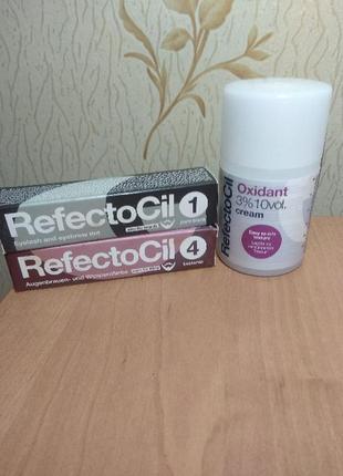 Краска и окислитель refectocil