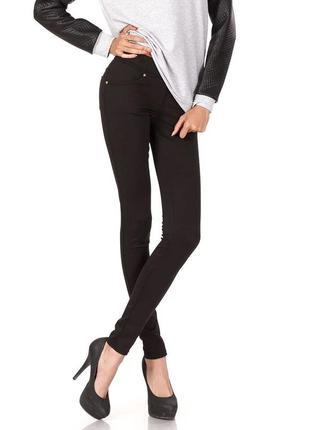Новые стильные леггинсы-брюки на пышные формы  leya