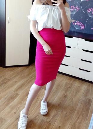 Новая юбка миди карандаш