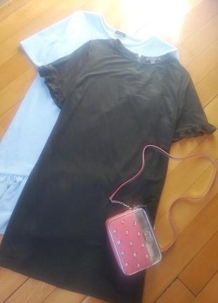 Актуальное платье из эко замши